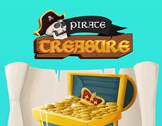 """Check out new work on my @Behance portfolio: """"Pirate Treasure Game Interface"""" http://be.net/gallery/55227971/Pirate-Treasure-Game-Interface"""