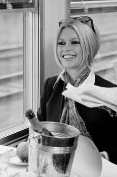Brigitte Bardot became synonymous with the 1950s and the 1960s glamour of St. Description from eurolade.wordpress.com. I…