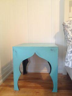 DIY Moroccan Bedside Table