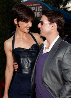 Katie Holmes & Tom Cruise at the premiere of Tropic Thunder in August 2008. Tom also found box office success with the historical thriller Valkyrie that year. As of 2009, the A-lister's movies have grossed over $6.5 billion worldwide. The couple was estimated to be worth about $257 million in 2012.