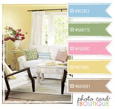 Love this palette. This blog has lots to say about color.