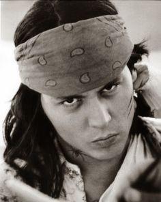 """Johnny Depp en """"The Brave"""", 1997"""