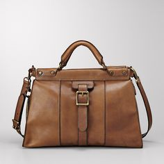 Vintage Revival Satchel - perfect for a day of shopping or travel