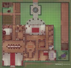A catalog for user created maps and links to maps by other artists suitable for use in any D&D campaign, adventure, or encounter. Fantasy Art Landscapes, Fantasy Landscape, Cthulhu, Pixel Art, Sims 4, Pathfinder Maps, Fantasy World Map, Dungeon Maps, Dungeon Tiles