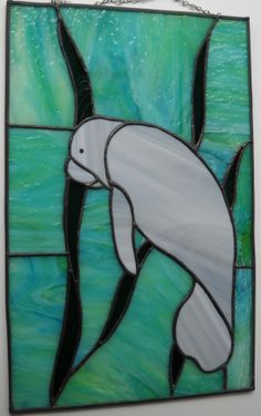 stained glass manatee?! Tattoo?!?