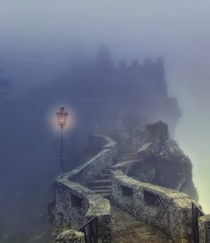 Dark Castle, San Marino, Italy photo via colleen. loved walking the tops of the castle walls in San Marino. The Places Youll Go, Places To Visit, Beautiful World, Beautiful Places, Beautiful Pictures, Dark Castle, Abandoned Places, Abandoned Buildings, Places To Travel