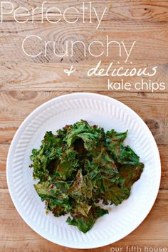 tips to making perfectly crunchy kale chips