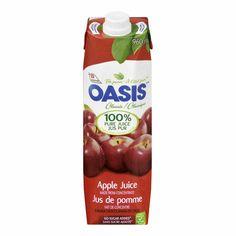 Jus Oasis format 960ml disponibles à la librairie Coop!