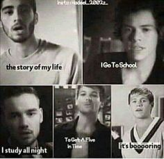 One Direction Memes, Story Of My Life, No One Loves Me, All About Time, Funny Memes, Abs, Larry, Live, Crunches