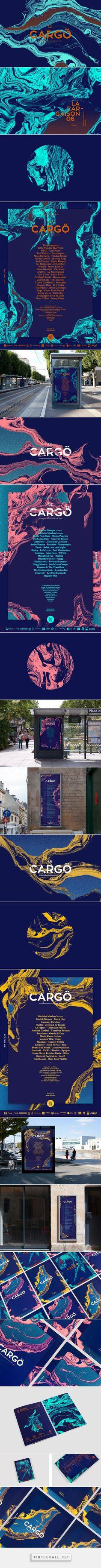 Le Cargö Concert Hall Branding by Murmure