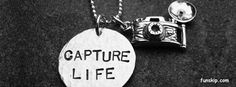 Quotes about photography - capture life hand stamped necklace with camera charm and custom bead Dslr Photography Tips, Quotes About Photography, Photography Books, Lifestyle Photography, Hand Stamped Necklace, Dog Tag Necklace, Camera Quotes, Hand Gestempelt, Best Facebook