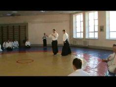 Konstantinov Sergey, Misaylov Victor - Irimi Nage - Far East Forum of Aikido Russia 2014 - YouTube  Cette deuxième vidéo vous fera remarquer que ce développement de l'aïkido est similaire voire au mieux inspiré de Marc Bachraty