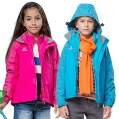 59.00$  Buy now - http://alipaq.worldwells.pw/go.php?t=32574936884 - New 2016 Spring&Winter Children Kids skiing jackets Baby boys girls waterproof windproof Thick warm jacket and coats