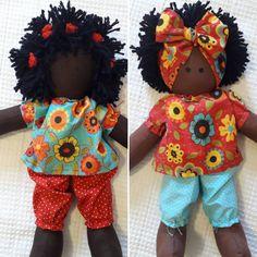 African Dolls, African American Dolls, Sock Dolls, Baby Dolls, Diy Gifts For Kids, Cat Doll, Crochet Doll Pattern, Sewing Dolls, Toy Craft