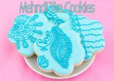 Mehndi Inspired Tea Cookies