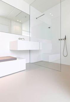 Modern Bathroom Design, Bathroom Interior Design, Interior Livingroom, Remodeling Mobile Homes, Home Remodeling, Living Room Remodel, Living Room Decor, Wc Design, Relaxing Bathroom