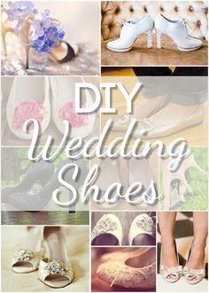 Stunning DIY Wedding Shoes - Blissfully Domestic
