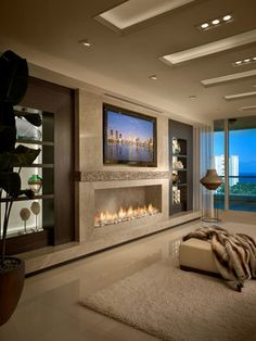 Penthouse Contemporary Residence Boca Raton, Florida contemporary-living-room- ✤LadyLuxury✤