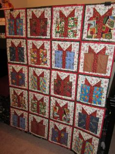 Christmas present quilt