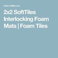 2x2 SoftTiles Interlocking Foam Mats | Foam Tiles