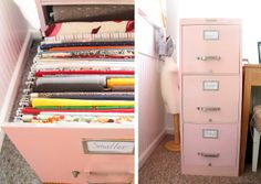 Grosgrain: Filing Cabinet is the PERFECT Place for your Fabric Stash!