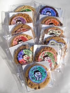 Alternative Baking Company vegan cookies. They really are quite delicious!