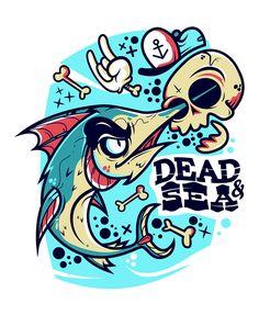 DEAD & SEA on Behance