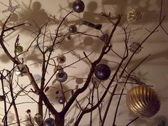 Branch Christmas Tree