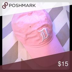 Detroit Tigers Baseball Hat in Pink Pink Detroit Tigers baseball hat. Only worn once for a game. Very cute! Accessories Hats