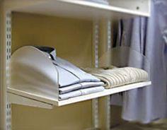FreedomRail 16 Inch Wire Shelf Divider - White in FreedomRail ...