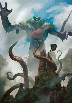 Michael Komarck Fantasy and Science Fiction Illustration Galleries Hp Lovecraft, Arte Horror, Horror Art, Magic The Gathering, Design Spartan, Art Magique, Science Fiction, Eldritch Horror, Mtg Art