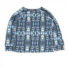 Agatha Cub Blue Tribal Sweatshirt – Baby Love Luna