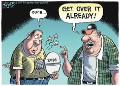 Rob Rogers by Rob Rogers for Jan 1, 2017 | Read Comic Strips at GoComics.com