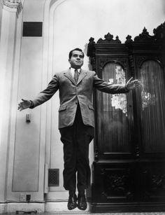 Philippe Halsman: The American Vice President Richard NIXON, 1959.