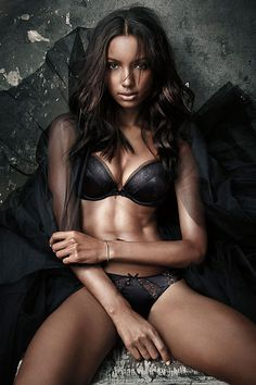 Candice, Lily, Behati, Jasmine & Martha Star In Victoria's Secret Fearless Campaign - 3 Sensual Fashion Editorials | Art Exhibits - Anne of Carversville Women's News