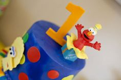 Real Party: A Happy Elmo Sesame Street First Birthday Party | Baby Lifestyles