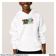 Moana | We Are All Voyagers. Producto disponible en tienda Zazzle. Vestuario, moda. Product available in Zazzle store. Fashion wardrobe. Regalos, Gifts. Link to product: http://www.zazzle.com/moana_we_are_all_voyagers_hoodie-235692312731168027?CMPN=shareicon&lang=en&social=true&rf=238167879144476949 #camiseta #tshirt #moana