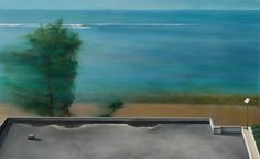 遙遠的一方(六) 蘇郁嵐 油畫 80x130x5cm x1p
