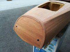 Modellisto-Blog: RIVA Ariston - Teil 5 - Hauptbeplankung Model Boat Plans, Diy Boat, Boat Building, Diy And Crafts, Blog, Purple, 3d, Design, World