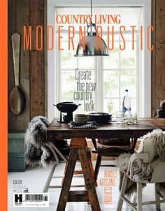 Interior stylist and author Emily Henson descirbes her four interiors books: Modern Rustic, Bohemian Modern, Life Unstyled and Be Bold. Design Living Room, Dining Room Design, My Living Room, Home And Living, Dining Room Inspiration, Interior Inspiration, Style Loft, Ideas Hogar, Interior Stylist