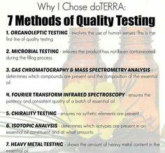 doTERRA's Quality Testing Steps