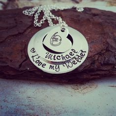 Love my Welder Necklace  Welder Wife Jewelry  by SweetAspenJewels