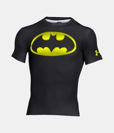 Men's Under Armour® Alter Ego Batman Compression Shirt, Black