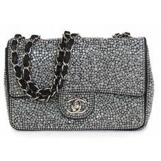 04ef2b871313 Chanel Crystal Mini Flap Bag Chanel Handbags