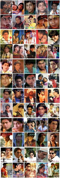SRK journey in Bollywood