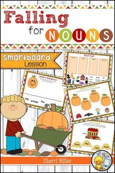 Falling for Nouns SMARTboard Lesson - My best education list Teaching Grammar, Teaching Tips, Learning Resources, Teacher Resources, Smart Boards, Elementary Teacher, Elementary Schools, Elementary Music, Literacy Stations