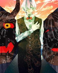 Death Parade fan art anime Decim from Pixiv