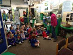 Our experts help pupils learn about the natural environment at the Braunton Countryside Centre