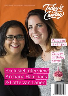 Canday Cover: Archana Haarnack & Lotte van Lanen - Canday 1e Birthday Party