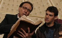 """""""Nicolas Cage and Justin Bartha in 'National Treasure: Book of Secrets [2007];"""" -- While no librarians feature in this movie, the Library of Congress certainly does."""